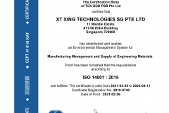 XT Xing Technologies SG Pte Ltd - 14K